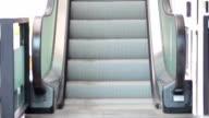 Escalator upstairs video
