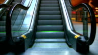 Escalator. video