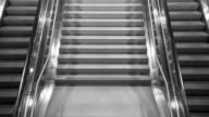Escalators running up and down video