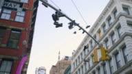 SOHO establishing shot New York City video