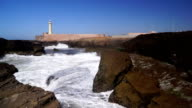 Estuary of the Bouregreg, Rabat, Morocco video