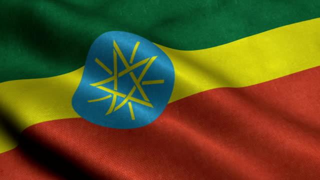 Ethiopia Flag video