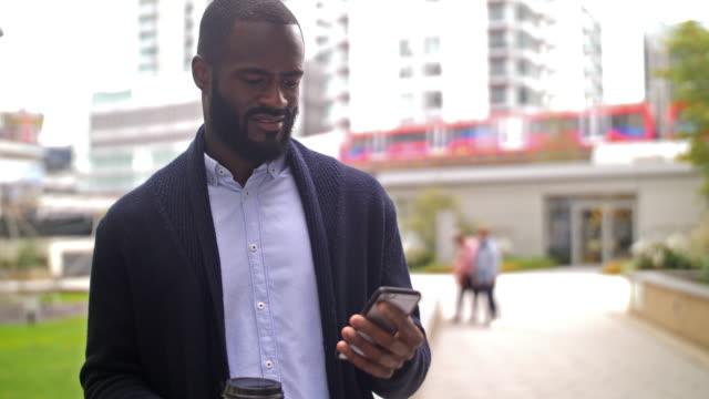 Ethnic British businessperson video