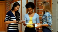 Euphoric students reading letters video