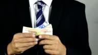 Euro Banknotes video