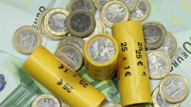 Euro Money - Coins and notes video
