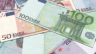 HD: Euro Money, Different banknotes, notes video