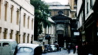 Europe City and Traffic (Old Film - Archival 1960s) video