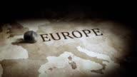 Europe economy map video