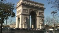 HD: Europe, France, Paris, Arc de Triomphe video