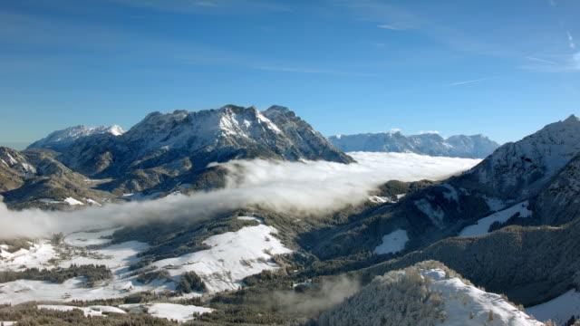 European Alps in Winter video