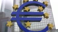 European Central Bank, Frankfurt (HD) video