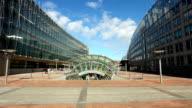 European Parliament Buildings in Brussels video
