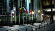 European Parliament in Brussels video