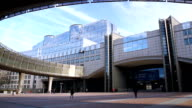 European parliament. video