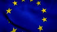 European Union Flag video