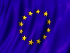 European Union Flag Waving (Loop PAL) video
