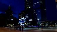 Eurotower, Frankfurt video