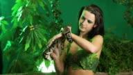 Eva and Snake video