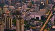 Evening city video