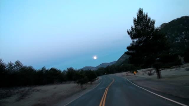 Evening drive through Rocky Mountain National Park video