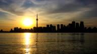 Evening in Toronto video