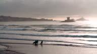Evening Surf video
