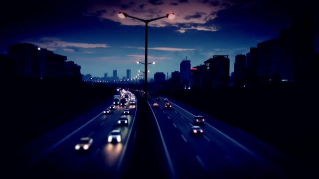 Evening Traffic video