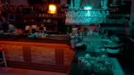 Everyday Life by the Bar Counter video