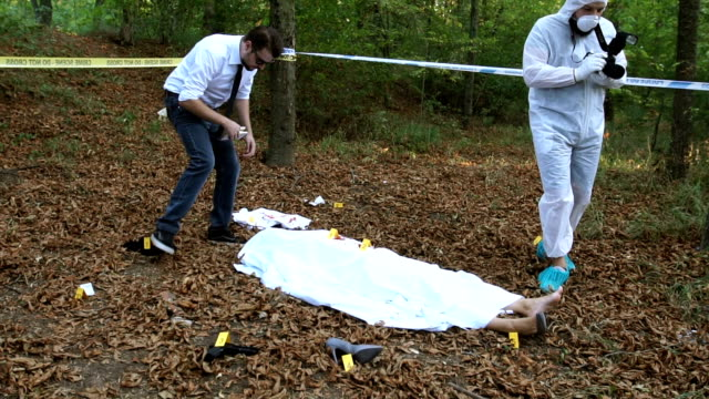 Evidence searching on crime scene video
