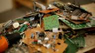 E-waste pull-focus video