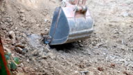 Excavator Digging. video