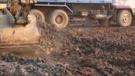 Excavator. video