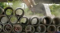 Excavator video