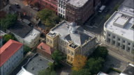 Exchange And Provost Building  - Aerial View - South Carolina,  Charleston County,  United States video