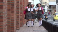 Excited Teen Female Students video