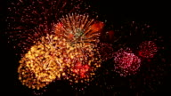 Exciting Firework with Sound video
