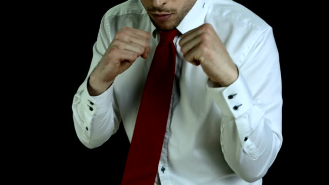 HD SLOW MOTION: Executive Boxing For Business video