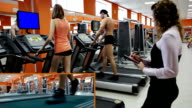 Exercise on a treadmill video