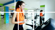 LOOP MONTAGE: Exercise video