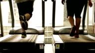 Exercising on Treadmill video