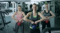 Exercising With Kettle Bells video