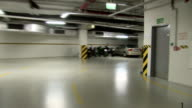 Exiting the underground parking video