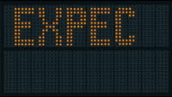 Expect Delays Traffic Sign video