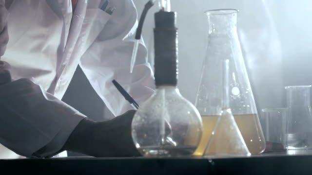 experiments in chemical laboratory video