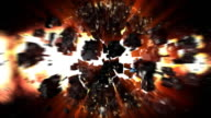Exploding earth video