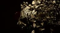 Exploding skull video