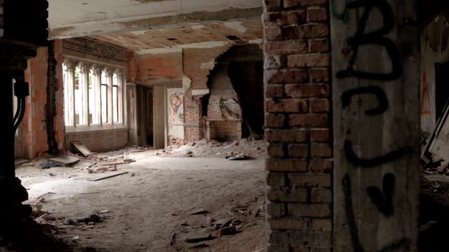 CLOSE UP: Exploring ghostly decaying rooms in abandoned City Methodist Church video