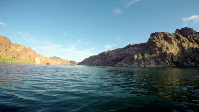 Exploring the Colorado River POV moving Forward video