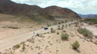 Exploring the desert back roads video